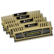 Memorie Corsair Vengeance Green 16GB (4x4GB) DDR3, 1600MHz, PC3-12800, CL9, Quad Channel Kit, CMZ16GX3M4X1600C9G