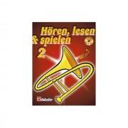De Haske - Hören, lesen, spielen, Band 2 Posaune in B, Buch & CD