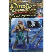 Pirate Expeditions High Sea Menace Pirate Figure Playset - Captain Pirate