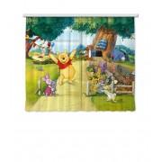 Disney Winnie The Pooh -Set De 2 Rideaux Pour Chambre Enfant -180 X 160 Cm (2x 90x160cm)