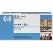 Тонер касета за Hewlett Packard CLJ 5500,5500dn, синя (C9731A)