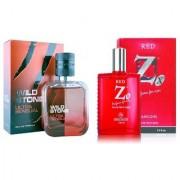 Wild stone combo Ramsons Perfumes Eau de Parfum - 150 ml (For Men Women)