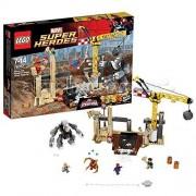 Lego Конструктор Lego Super Heroes 76037 Лего Супер Герои Носорог и Песочный человек против Супергероев