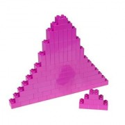 Premium Big Briks Magenta Basic Builder Set #1 - 84 Pack - (Big LEGO DUPLO Compatible) - Large Pegs