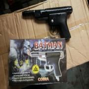 batman air toy piston gun ( cover and 100 bullets free )