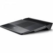 Stand notebook DeepCool 15.6' - 2* fan 140mm, 1* USB 3.0, plastic & metal, black, 6* unghiuri, 'U