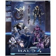Halo 4 McFarlane Toys Series 1 Exclusive Action Figure 4-Pack Collector Box Set 2 [Master Chief Spartan Soldier Watche