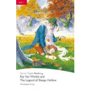 Level 1: Rip Van Winkle & The Legend of Sleepy Hollow Book & CD Pack by Washington Irving