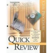Sum and Substance Quick Review on Civil Procedure by Douglas Blaze