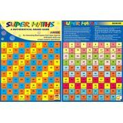 Super Maths. Mathematical Board Game. Math Skill Builder. Return Gift. Birthday Gift.