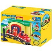 Playmobil 6783 - Il Mio Treno Portatile 1-2-3
