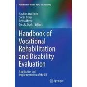 Handbook of Vocational Rehabilitation and Disability Evaluation by Reuben Escorpizo
