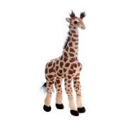 "19"" Large Standing Giraffe Plush Stuffed Animal Toy by Fiesta Toys"