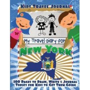 Kids Travel Journal by Lunar Glow Journals