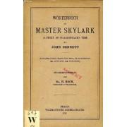 Wörterbuch Zu Master Skylark, A Story Of Shakespeare's Time By John Bennett