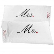 Mr and Mrs Personalized Couple Pillows
