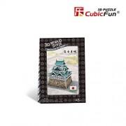 3D Puzzle Nagoya Castle Japan W3152h Cubicfun 48 Pieces