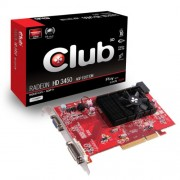 CLUB3D CGA-3452 AMD Radeon HD3450 0.5GB scheda video