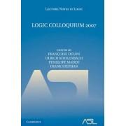 Logic Colloquium 2007 by Francoise Delon