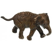 Schleich North America Asian Elephant Calf Figure, 7.9 x 3.0 cm