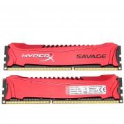 Kingston HyperX Salvaje 8GB Kit(2*4GB) Memoria De Escritorio 2400MHz DDR3 Sin ECC CL11 SDRAM XMP 240-Pin HX324C11SRK2/8