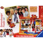 High School Musical - 2 in a box jigsaw puzzle (100 & 200 pieces) by Ravensburger