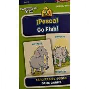 School Zone Bilingual Spanish English Go Fish (Pesca) Card Game Grades P-K