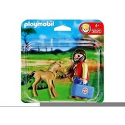 Playmobil 5820 Vet With Foal
