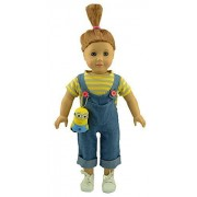 American Girl Doll Clothes Inspired Despicable Me Agnes Costume Fit 18 Inch Dolls Alike by dreamtoyhouse