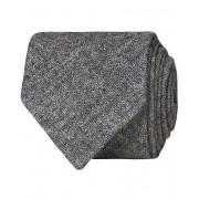 Drake's Cashmere 8 cm Tie Light Grey