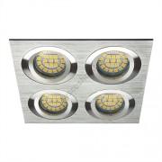 Lámpatest álmennyezetbe illeszhető alu MR16 keret SEIDY billenő alumínium CT-DTL450 Kanlux - 18286