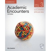 Academic Encounters Level 3 Student's Book Listening and Speaking with DVD by Kim Sanabria