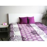 Ágytakaró 200x240 - Lila