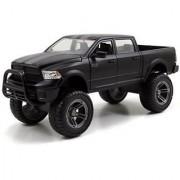 2014 Dodge Ram 1500 Matt Black Pickup Truck Off Road Just Trucks 1 24 by Jada 97473