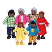 Hape-Wooden Happy Family African