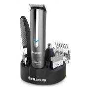 Taurus Hipnos Power 903.904 - Barbero con cuatro cabezales intercambiables, color gris