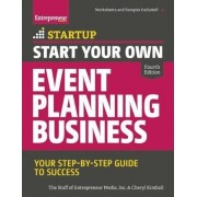 Start Your Own Event Planning Business by Entrepreneur Media