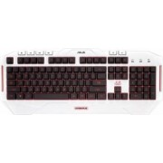 Tastatura Gaming Asus Cerberus Arctic USB White