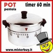 TIMER MECCANICO PENTOLA 60 minuti