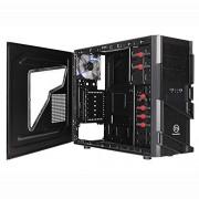 """Thermaltake MS-I Case Mini-Tower, Dimensioni di HDD Supportati: 2.5,3.5"""", Senza Alimentatore, Nero"""