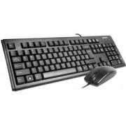 """WIRED KIT A4TECH(KM-720 + OP-620D-B), USB, black, """"KM-72620D-USB"""""""