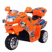 Lil Rider Fx Wheel 6v Battery Powered Motorcycle, Kids Electric Motorcycle, Orange