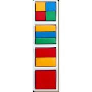 Little Genius Fraction-a-Square, Multi Color