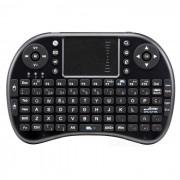 Ipazzport mini teclado inalambrico con panel tactil (version en espanol)