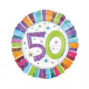 PARTY STREET Palloncino Buon Compleanno 50