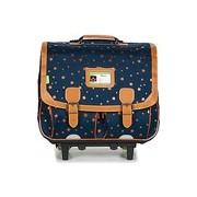 Tann's Táskák / Gurulós táskák EXCLU ETOILE MARINE TROLLEY CARTABLE 41CM para lányok