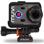 Camera video de actiune Muvi VCC-006-K2S , Full HD, 16 MP, Wi-Fi, Handsfree (Neagra)