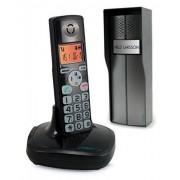 Avidsen 102193 Teléfono digital inalámbrico, pantalla LED, color negro