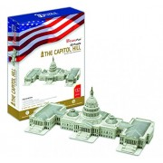 Cubic Fun MC074H - 3D Puzzle The U.S. Capitol Washington Usa