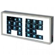 negativoscopio da parete o tavolo - h.38x92cm - 2 pannelli - orizzonta